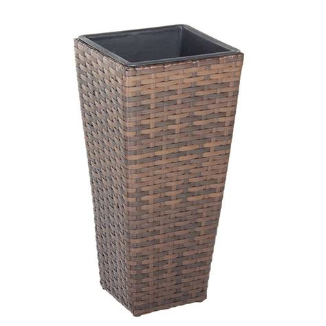 rattan planters in stock now greenfingers