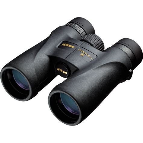 nikon 10x42 monarch 5 binoculars black 7577 b h photo video