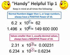 scientific notation passy s world of mathematics