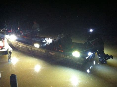 Bowfishing Boat Lights by Lights Causing Ripples Outdoors Lancasteronline