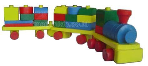 Balok Kereta Geometri Alat Peraga Edukasi Mainan Kayu alat peraga edukasi balok kereta api