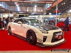 Nissan Gtr Spoiler Varis Magnum Opus Front Lip Spoiler Carbon Fiber For 2017