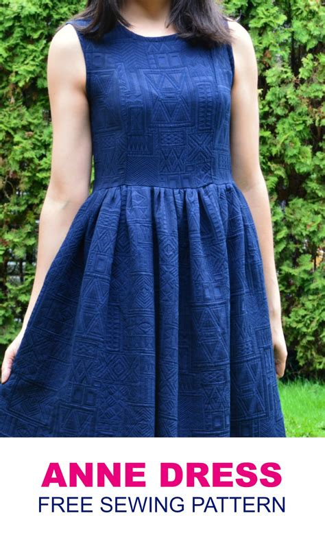 pattern free dress free sewing pattern for women on the cutting floor