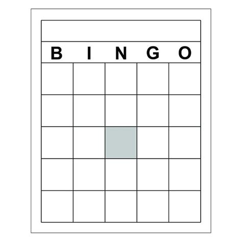 make your own bingo cards template make your own bingo cards template 28 images create