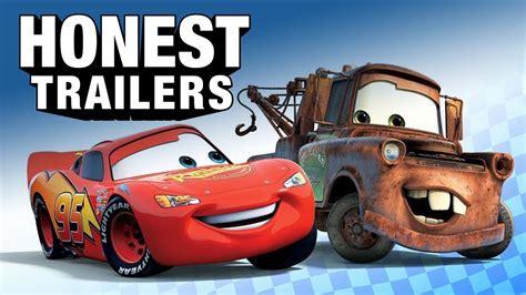 car divertenti cars 1 e 2 il divertente trailer onesto dei pixar