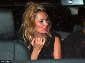 The 3am Worse For Wear Kate Moss And Osbourne Pair Up For A Out by Kate Moss Lets Hair In Sao Paulo Daily Mail