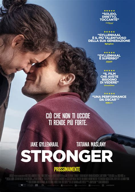 film it stronger il teaser poster italiano mymovies it