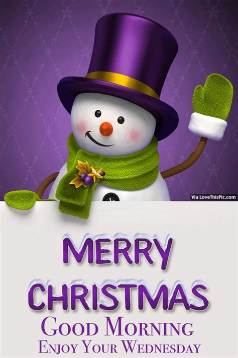 merry christmas good morning enjoy  wednesday pictures   images  facebook