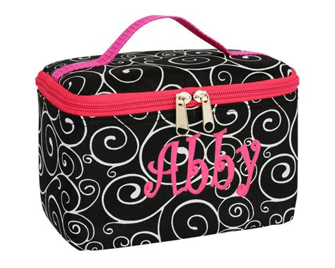 cosmetics monogrammed cosmetic bags