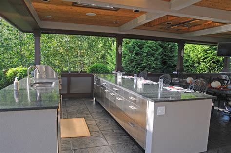covered outdoor kitchen outdoor kitchen covered patio