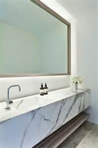 marble sink vanity modern bathroom