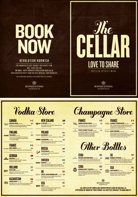 To Market Cocktail Menu by 251 Best Graphic Design Images On Design