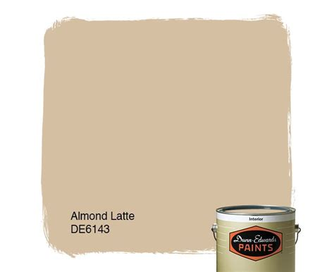 dunn edwards paints paint color almond latte de6143 click for a free color sle