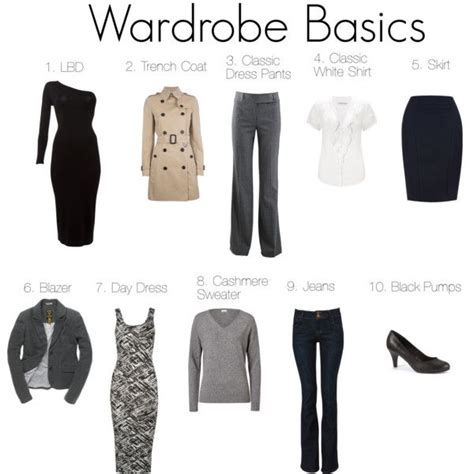 Basic Work Wardrobe Essentials by Best 25 Basic Wardrobe Essentials Ideas On