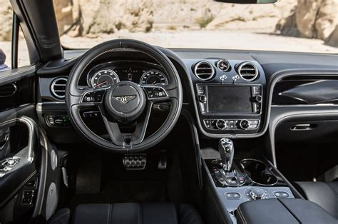 2017 bentley bentayga interior 2017 bentley bentayga test review motor trend