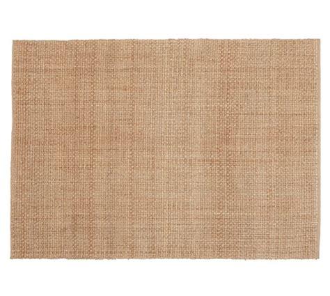 basket weave jute rug chunky basketweave jute rug honey pottery barn