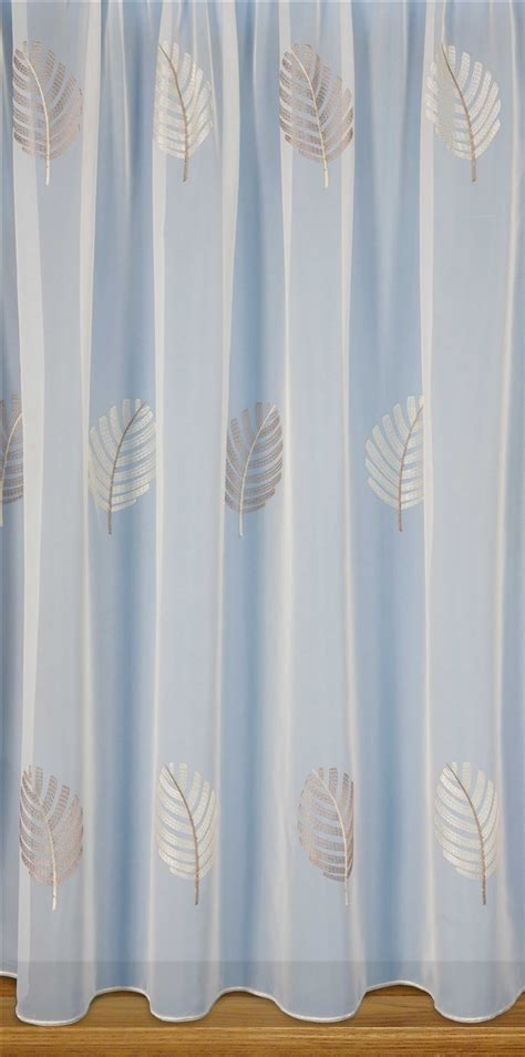 cream embroidered curtains julianne embroidered voile cream nets and curtains