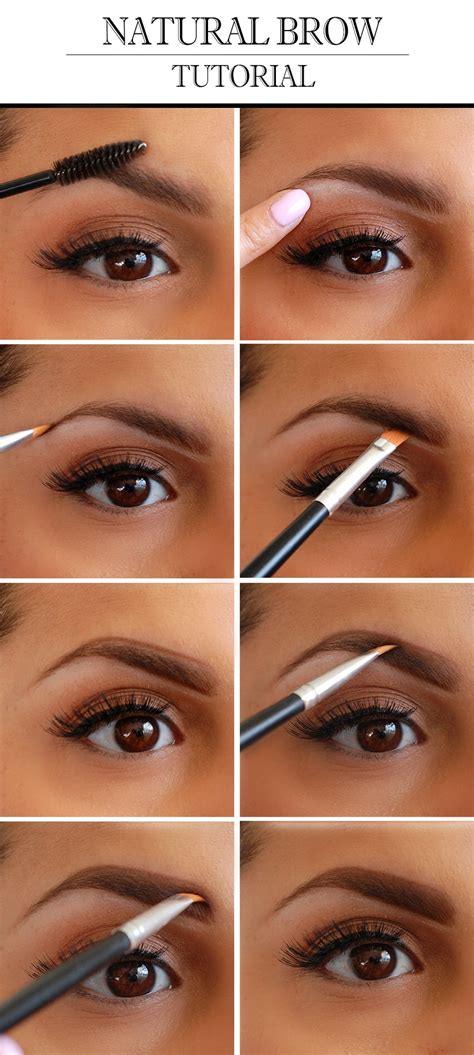 natural eyebrow makeup tutorial for beginners natural eyebrow tutorial