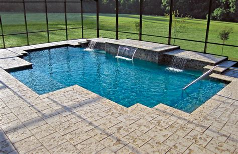 Geometric Pool | geometric pools blue haven custom swimming pool and spa builders