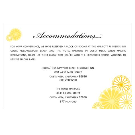 what to include on wedding enclosure cards wedding invitation enclosure card size card invitation