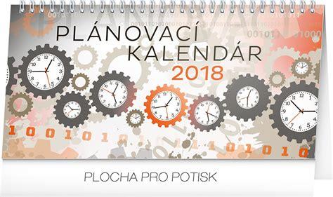 Plánovací Kalendář Na Rok 2018 Stolov 253 Kalend 225 R Pl 225 Novac 237 Sk 2018 25 X 12 5 Cm Dada Dvd