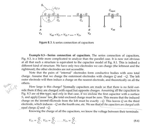 capacitor charge conservation capacitor conservation of charge 28 images the capacitor puzzle that got me my math