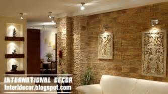Interior Wall Designs by Interior Stone Wall Tiles Designs Ideas Modern Stone Tiles
