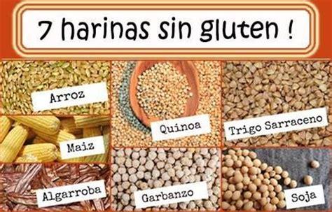 alimentos sin harina de trigo alimentos libres de gluten alimentos para
