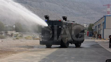 iag armored water cannon riot control  vehicle technical data united arab emirates wheeled