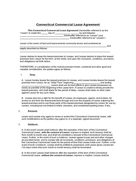 printable lease agreement ct general rent lease agreement form 3 free templates in