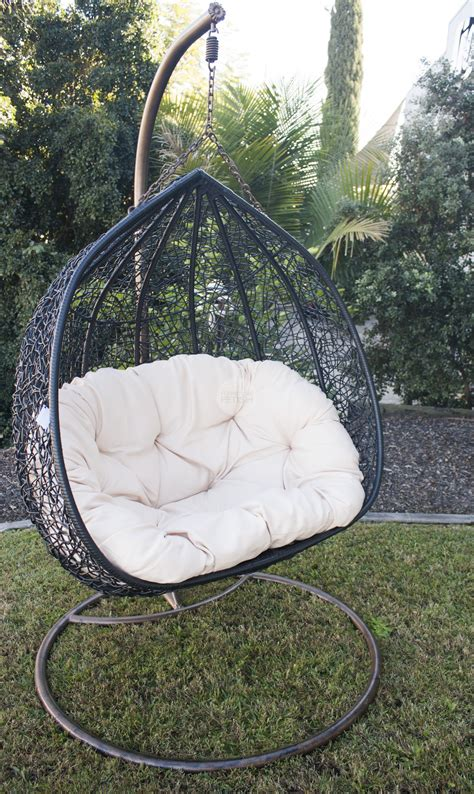 hanging egg chair black buy hanging egg chairs