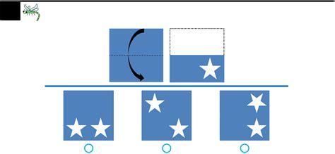 Paper Folding Test - free cogat sle test kindergarten level 5 6