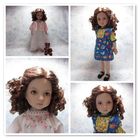 by hook by hand prairie flowers an original cloth doll by hook by hand a little darling