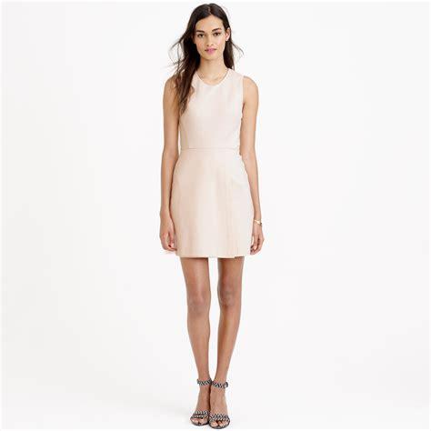 light pink wrap dress j crew mesh wrap dress in pink lyst
