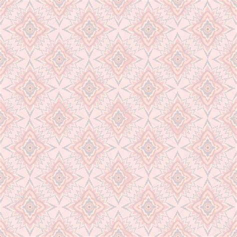 wallpaper pink elegant floral seamless pattern ornament vector motif on pink