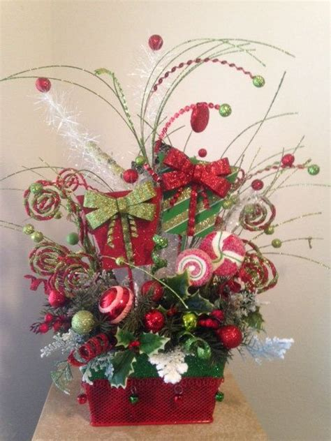 holiday boutique festive whimsical christmas centerpiece