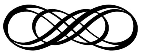 infinity tattoo png infinity scroll work by hassified on deviantart