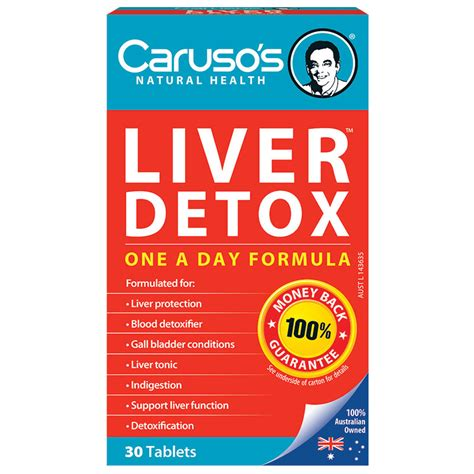 Caruso Detox Plan by Buy Carusos Health Cleanse Liver Clear Detox