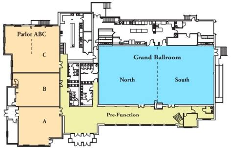 Catering Kitchen Design by European Crystal Banquet Hall Floor Plan