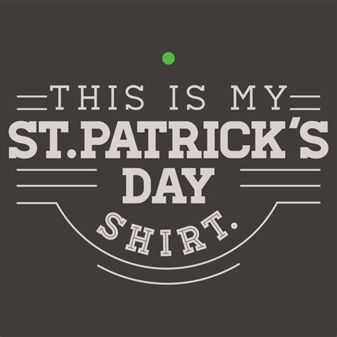 day shirt this is my st patrick s day shirt t shirt snorgtees