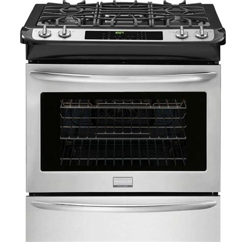 frigidaire gallery 30 in 4 5 cu ft slide in gas range
