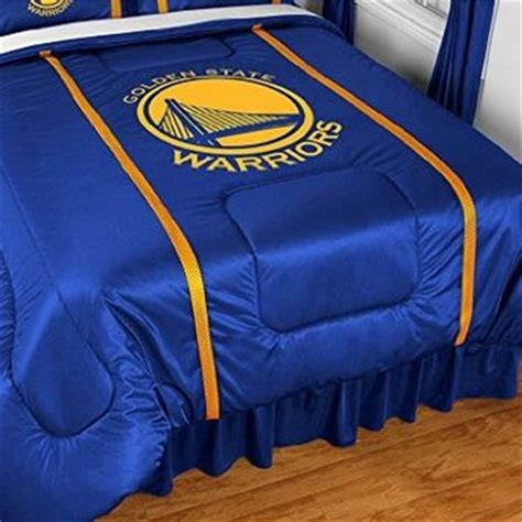 golden state warriors bed set golden state warriors full size bedding from amazon
