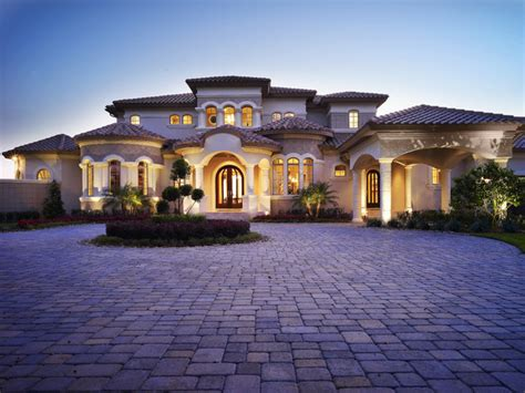 Mediterranean Home Builders The Custom Home Designed And Built By Ta Home