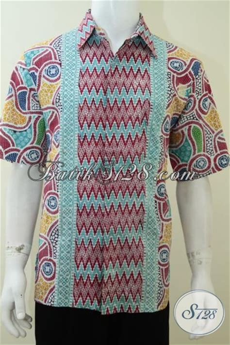 Batik Danar Hadi Laki Laki batik bagus laki laki motif modern warna cerah ld2151c l toko batik 2018