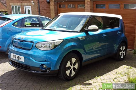 Kia Soul Fuel Kia Soul Ev Test Drive Fuel Included Electric Cars With