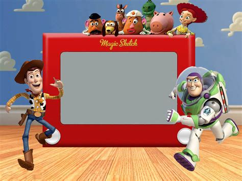 5 best images of free printable toy story invitations