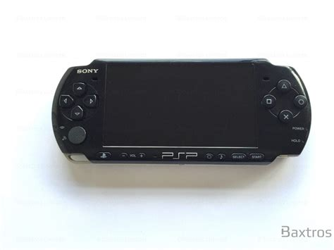 psp console sony psp 2000 console black baxtros