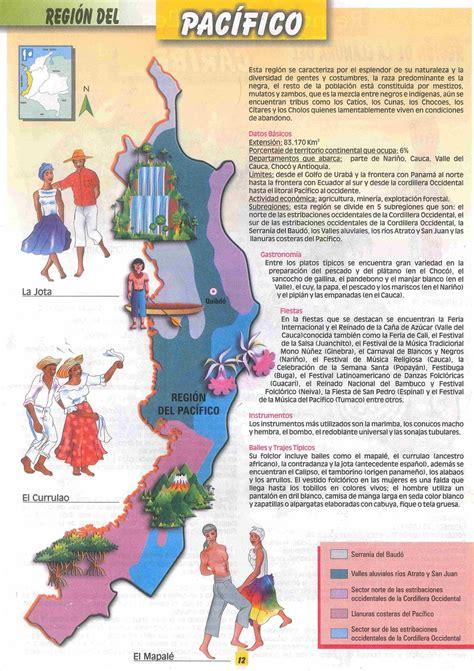 imagenes regiones naturales de colombia mapas de colombia regiones naturales de colombia