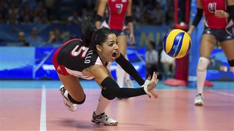 libero volleyball top 15 best volleyball actions brenda castillo best