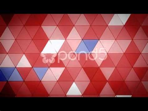 triangle pattern cinema 4d triangle polygon loop 07 patriotic after effects